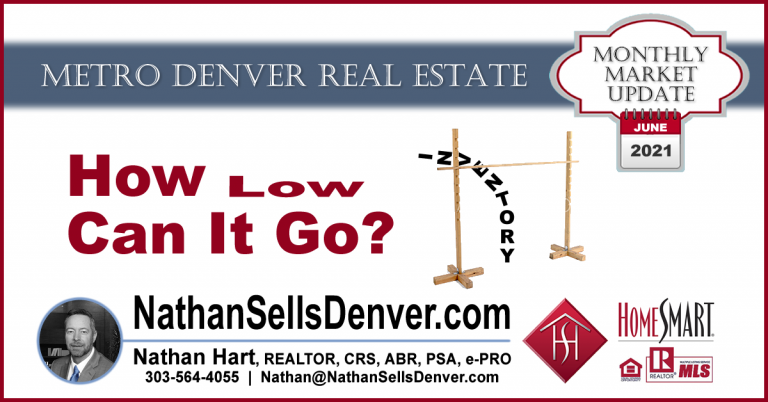Denver Real estate inventory at all time low