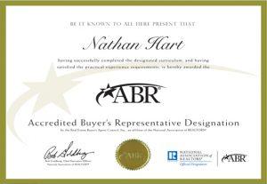 Accredited Byer Representative ABR