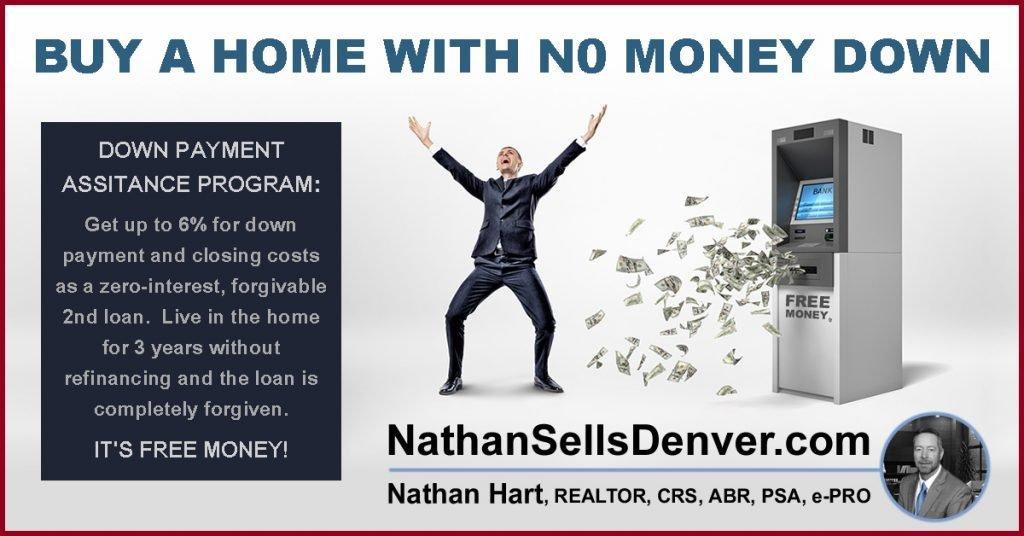 down payments assistance program for denver colorado - no money down home loan