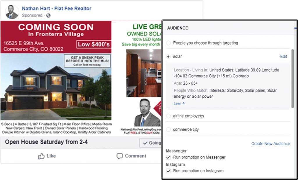facebook real estate marketing plan