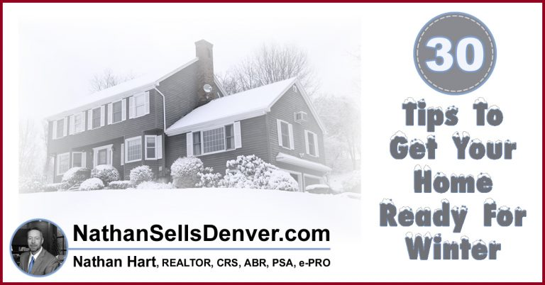 30 tips to get your home ready for winter in Denver