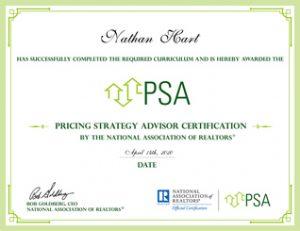 pricing strategy advisor PSA
