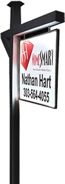 denver realtor nathan hart house yard sign